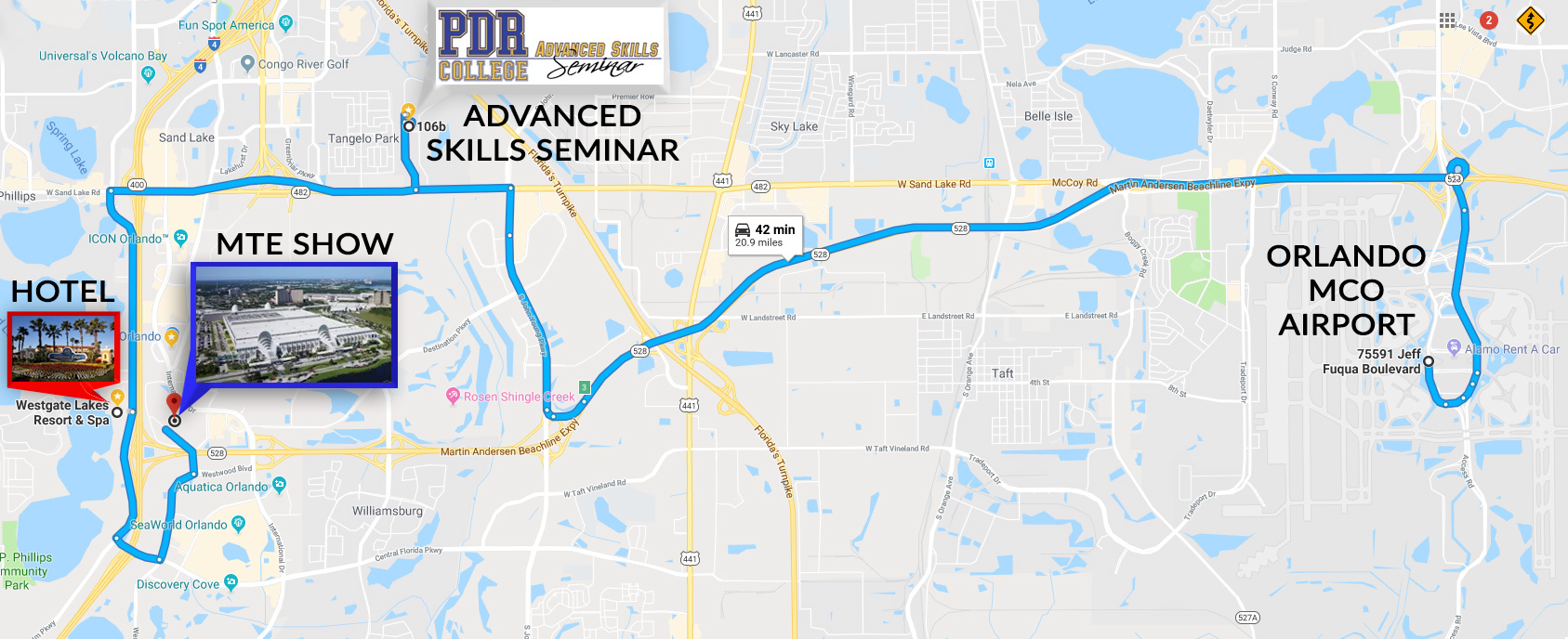 ORLANDO-ADV19-MTE-CONVENTION-CENTER-MAP - PDR College